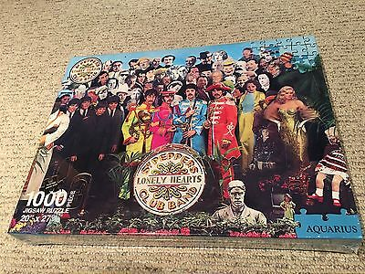 The Beatles Sgt. Peppers Lonely Hearts Club Band 1000 Piece Puzzle 2012