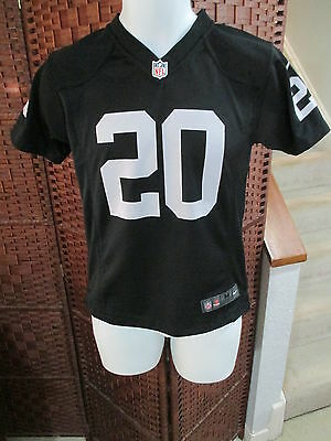 Darren McFadden Oakland Raiders Black Nike On Field NFL Jersey Youth Medium