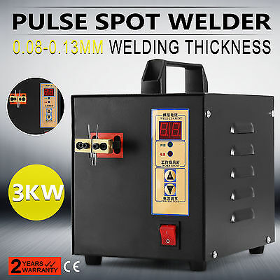 Handheld Pulse Spot Welder Small Sparks 0.08-0.13Mm Thickness Battery Charger