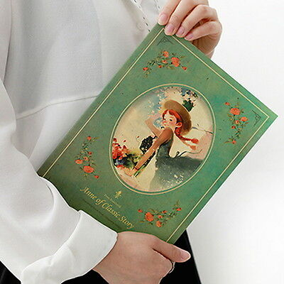 Indigo - Classic Story Free Notebook Ann Alice OZ Paper Lined Note Planner Diary