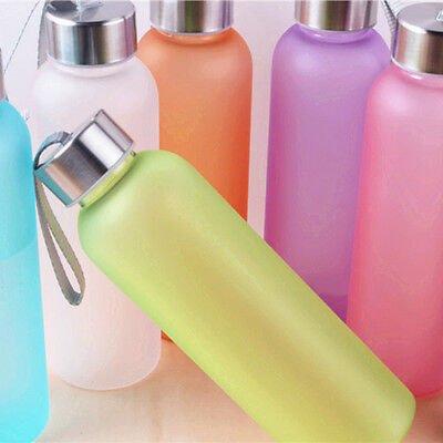 600ML Unbreakable Portable Leak-proof Sports Water Bottle Cycling Camping Cup