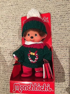 Brand New in Package MONCCHICHI Chistmas Plush Doll