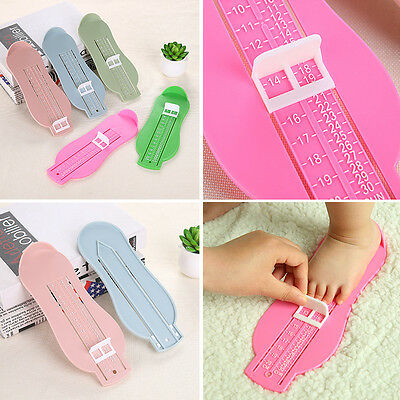 Children Baby Foot Shoe Size Measure Tool Infant Device Ruler Kit 4 Colors
