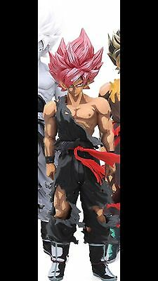 RARE Banpresto Dragon Ball Z Super Master Stars Piece THESONGOKU S Saiyan God 2D