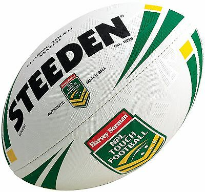 Steeden NRL Harvey Norman Classic Touch Football Senior Rugby League Match Ball