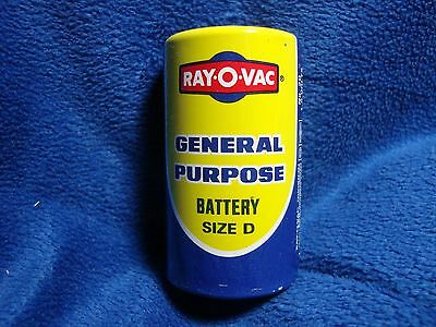 Vintage Ray-O-Vac 1.5 Volts D Cell Number 20 Battery