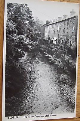 The River Severn,  Llanidloes nr Newtown, Llandrindod Wells, Friths R/P/Pc 1970