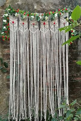 Macrame Wall Hanging Tapestry Room Divider Door Window Curtain Wedding Backdrop