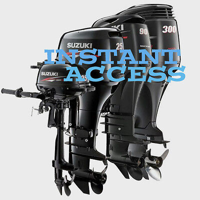 SUZUKI DF9.9 & DF15 Four Stroke Outboard Workshop Manual 2003-2011 INC
