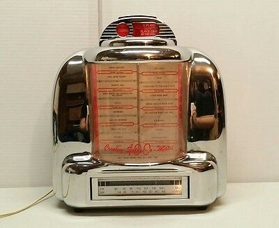 Crosley CR-9 Limited Collectors Edition Select-o-Matic Table Top Radio Jukebox