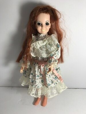 Vintage 1968 Ideal Toys Corp 'crissy Doll' Brown Hair,blinking Eyes,clothed Nice