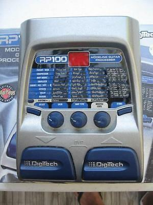 Digitech RP100 Modeling Guitar Processor Multi-Effects Pedal Digital Processor