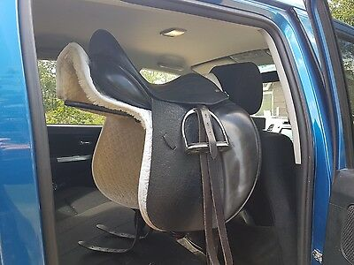 In car saddle rack,travel, portable.