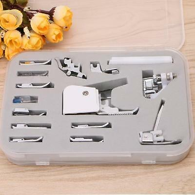 Set of 15pcs Presser Foot Feet Normal Sewing Machine Part