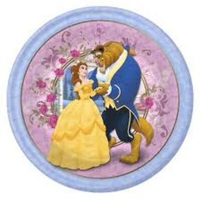 Set Of 12 Disney's Beauty And The Beast Cake Bags