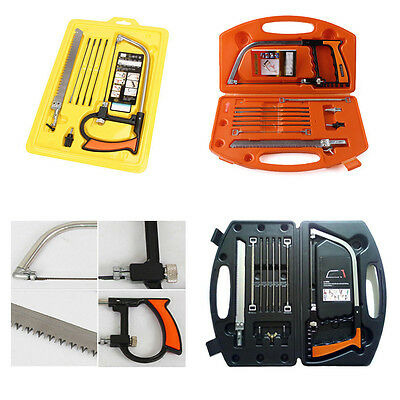 11-in-1 Universal Saw Hand DIY Home Tools Kit Steel Glass Wood Working Cutting o