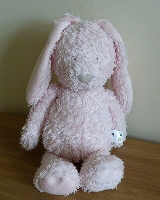 """Mothercare Pink My First Bunny Rabbit Baby Comforter Soft Beanie Hug Toy 13"""""""
