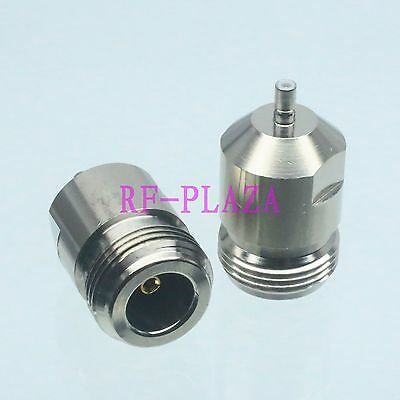 1pce Adapter N female jack to SSMB male plug straight RF COAXIAL