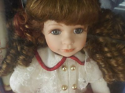 Collectors Choice Genuine Fine Porcelain by Donnatell De'Roma Doll