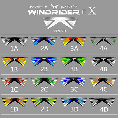 NEW Windrider X Vented 4 Line Stunt Kite Advanced for Kite Player Outdoor