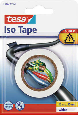 TESA Isolierband, 10mx15mm ws im Blister