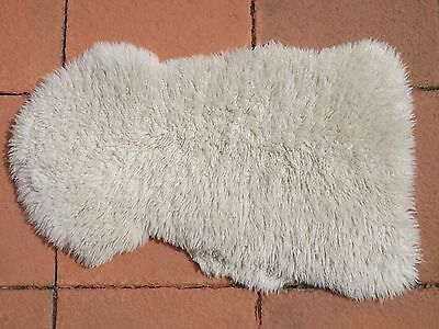 "Real Sheepskin Curly Pile Rug- 36""(91 cm) L x 21""(53 cm) W x 2"" (5 cm) Deep"