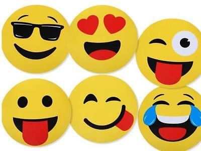 Emoji Placemats Emoticon Place Mat Set of 6 Table Mats Emotion Smiley Face