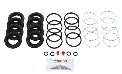 FRONT Brake Caliper Seal Repair Kit +CAST SEALS for SUBARU IMPREZA 2.0 T GT 4015
