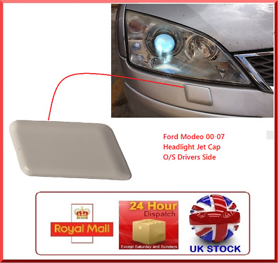 Ford Mondeo Mk3 Iii 3 00-07 Headlamp Light Washer Jet Cap Cover Drivers Side