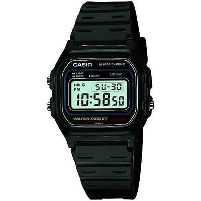 Casio Collection Sports 50m Water Resistant Digital LCD Watch - W-59-1VQES