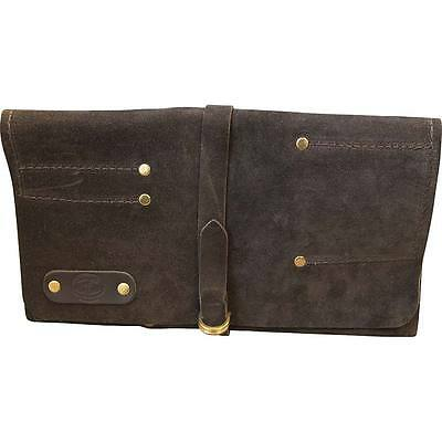 Leather Personalised Chisel Roll - 12 Pocket - Connell