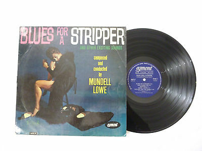 Mundell Lowe ~ Blues For A Stripper ~ Ajs 11 ~ Ex-/vg ~ Uk Vinyl Lp ~ Plays Well
