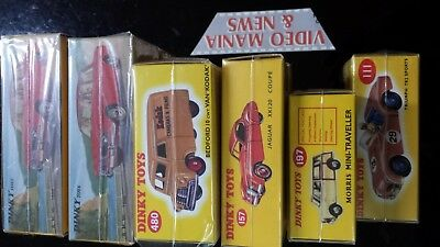 DINKY TOYS  CLASSICHE  SC.1/43 De Agostini.--NUOVE--No booklet,only box sealed.