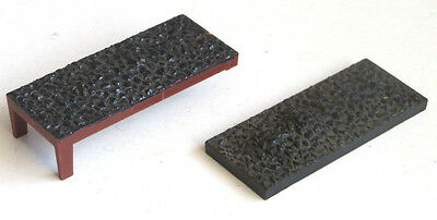 2 x Triang TT gauge coal load for mineral wagon, spares, TT scale