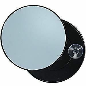 Pretty Magnifying Mirror 10X Enlargement With 2 Suction Cups Make Up Mirror