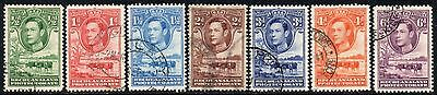 Bechuanaland 1938 GeorgeVI  Pictorials - Part Set  SG.118-124  Used