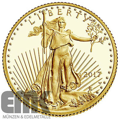USA - 5 Dollar 2017 - American Gold Eagle - West Point - 1/10 Oz. Gold PP Proof