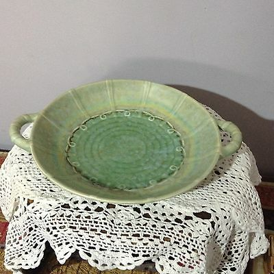 *Beswick* Vintage Multi Coloured Twin Handle Dish Plate ~ Made in England