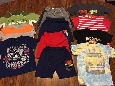 Lot Of 11 Baby Boy Shirts And Shorts Size 18M