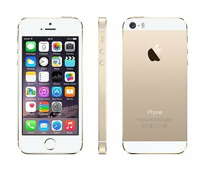 Apple iPhone 5S 16GB GOLD A1533 FACTORY UNLOCKED - New Parts!