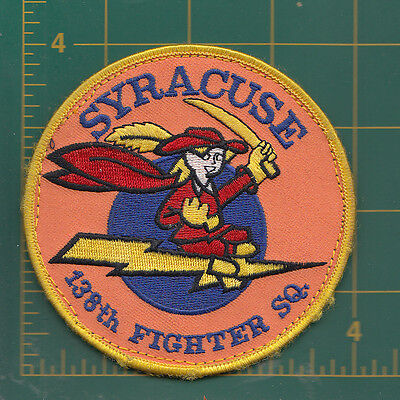 Authentic Air Force USAF 138th Fighter Squadron, Syracuse, F-16