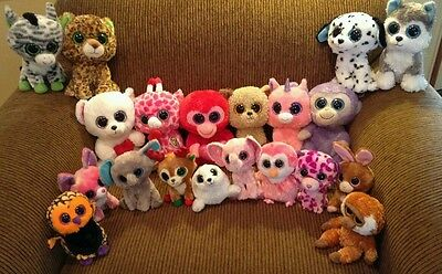 Lot of 20 ty beenie boos
