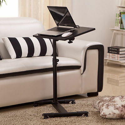 Adjustable Portable Table Desk Stand Sofa Bed Tray Laptop Notebook Free Postage