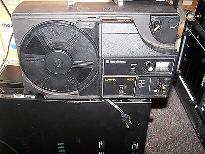 """""""used""""  Vintage Bell & Howell Lumina Ii Mx33 8Mm Projector W/ Box -Pick Up Only!"""
