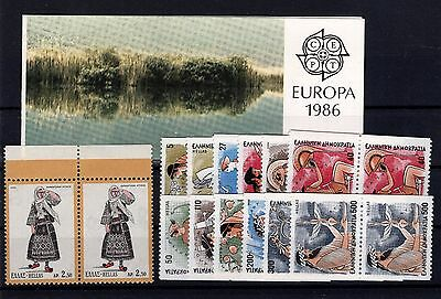 P28332/ Grece Greece – 1972 / 1986 Lot Neuf / Mint Mnh 104 €