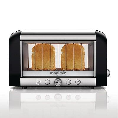 Magimix 2 Slice Vision Toaster 11529 Black EBDC582-A