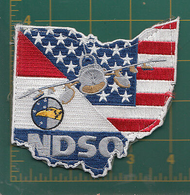 Authentic Air Force USAF/ RNAF 306 SQN F-16 patch, Springfield, OH