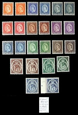 St VINCENT 1955/63 with Shades As Described U/M NB1293