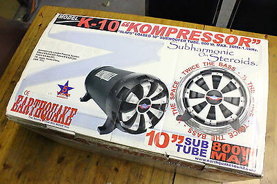 "EARTHQUAKE SOUND 10"" 4-Ohm 800W(max) CAR SUBWOOFER CAR K-10"