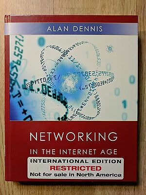 Networking in the Internet Age by A. Dennis (Hardback, 2002)